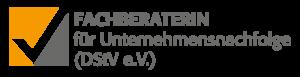 Logo Fachberaterin für Unternehmensnachfolge (DStV e.V.)